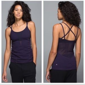 Lululemon purple exquisite tank top